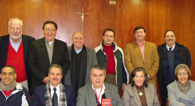 Delegados de Unión Mundial, Bolivia, Perú, México, Chile, Uruguay, Venezuela, Colombia y Brasil